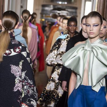 Valentino Alta Costura Otoño-Invierno 2018/2019: cuando las obras de arte vienen en forma de vestido