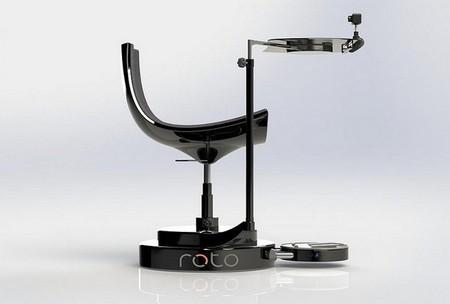 Roto es la silla que todo usuario de realidad virtual necesitará para sumergirse en la acción
