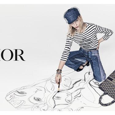 Sasha Pivovarova es la nueva musa de Dior y aquí está su primera campaña