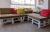 Hazlo tú mismo: un sofá con palés