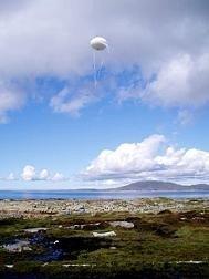 Red de comunicaciones utilizando globos aerostáticos