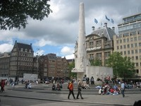 La Plaza del Dam, corazón de Ámsterdam (I)
