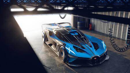 ¡Alucinante! El Bugatti Bolide de 1.850 CV pasa de 0 a 100 km/h en 2,17 segundos, supera los 500 km/h y podría tener el récord del Nürburgring