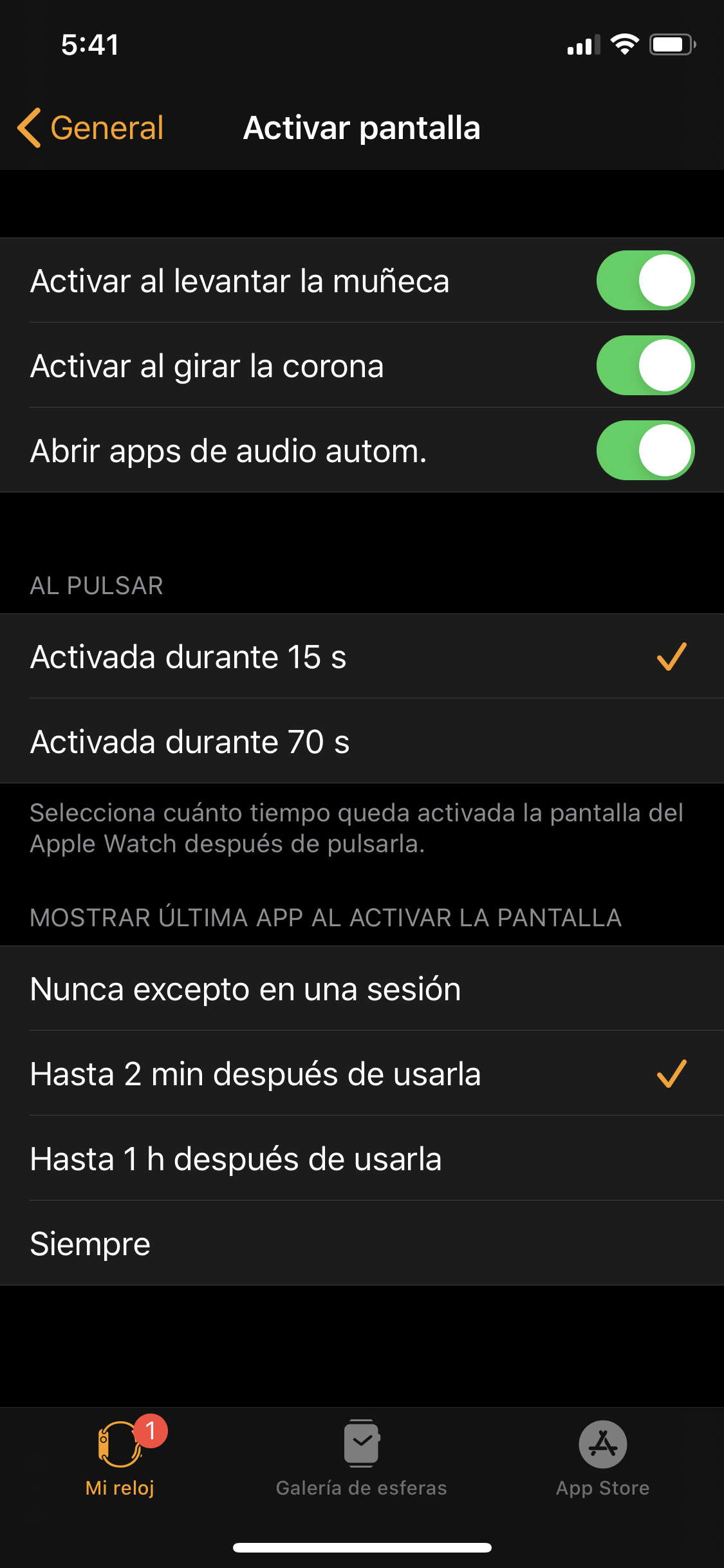 Foto de Apple watch Series 5 opciones (1/8)