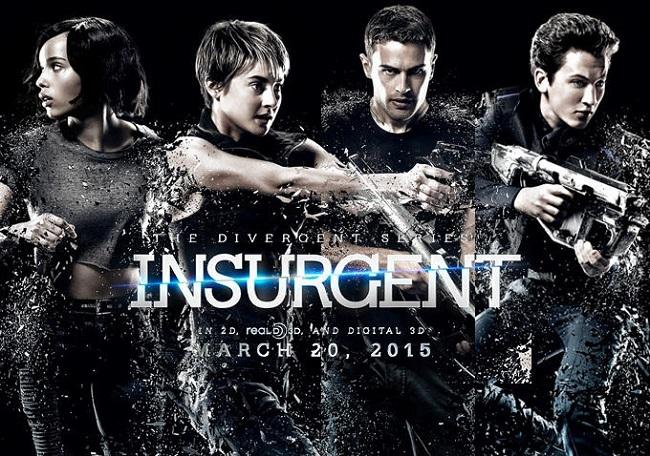 Cartel de 'La serie Divergente: Insurgente'