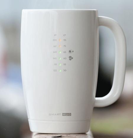 Smart Mug te dirá si tu té está demasiado caliente (o no)
