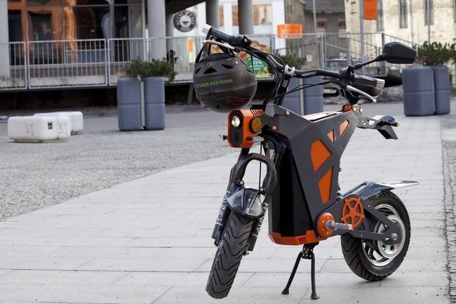 scooter eléctrica Exo-Byke