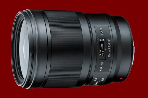 Tokina Opera 50mm F1.4 FF: la compañía japonesa presenta oficialmente su primer objetivo premium