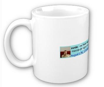 Twitsig Mug, la taza twittera