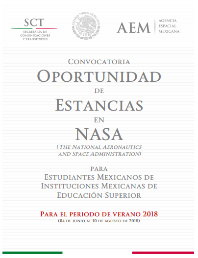 Convocatoria Nasa Mexico