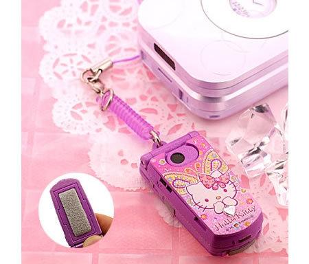 Limpiador de móvil de Hello Kitty