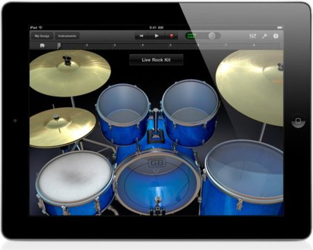 GarageBand para iPad