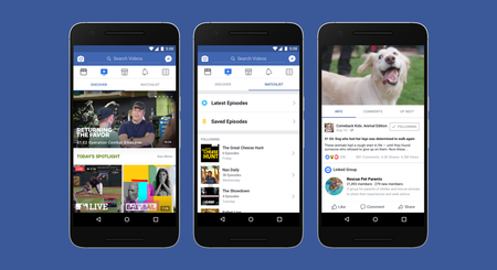Facebook Watch, la plataforma de vídeos alternativa a YouTube ...