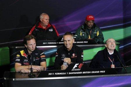 GP de Gran Bretaña F1 2011: la rueda de prensa origen de la polémica