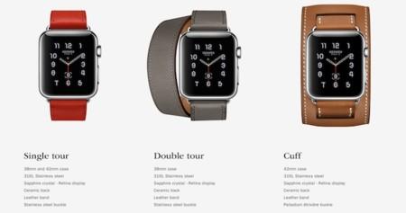 La colección Hermès del Apple Watch debuta en tiendas especializadas