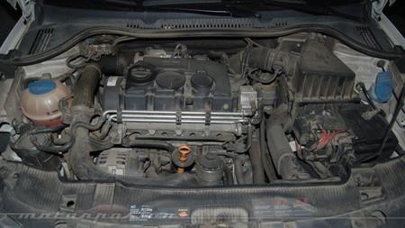 Vano motor del Seat Ibiza TDI