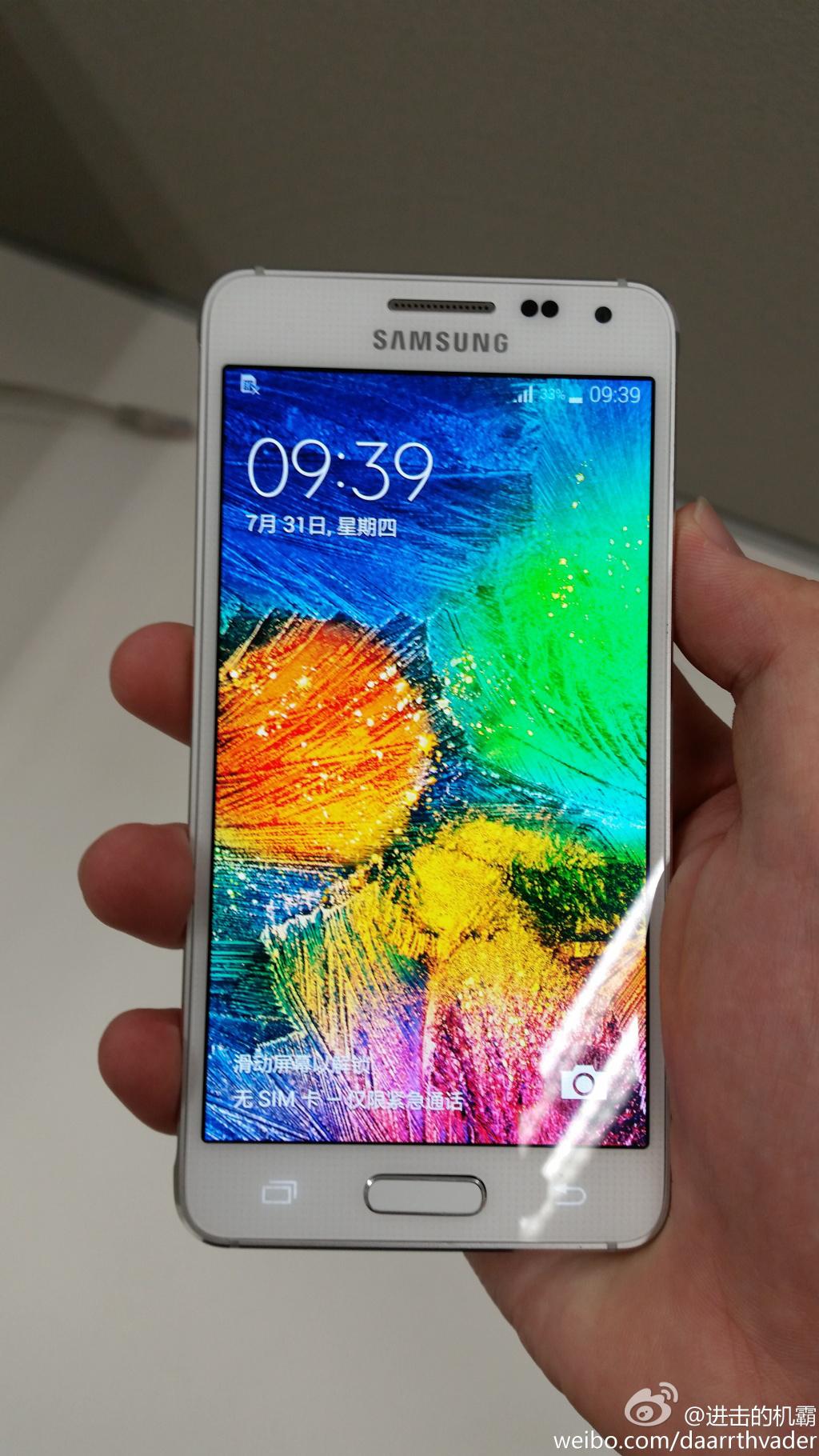 Foto de Samsung galaxy alpha (1/8)