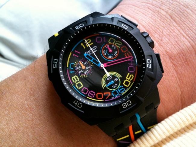 swatch reloj tiempo