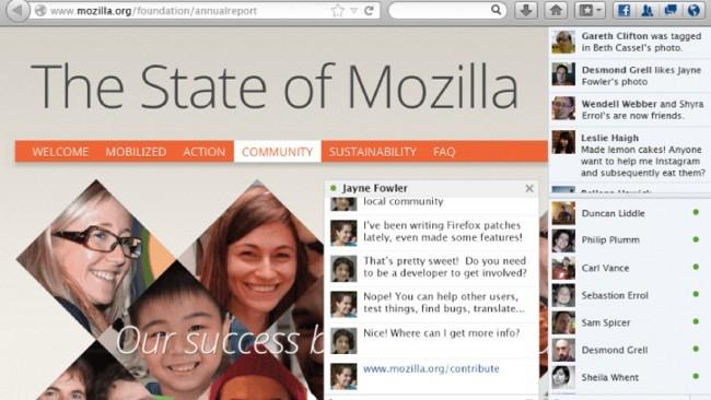 La Social API de Firefox en acción: como activar la integración con Facebook Messenger