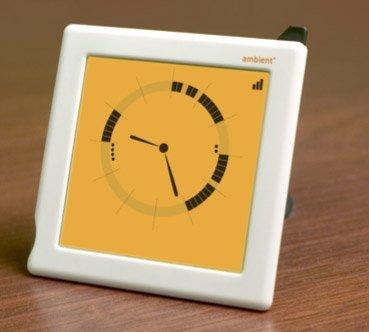 Ambient Clock se comunica con Google Calendar