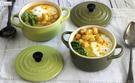 The Stew Garbanzos Estofados Con Curcuma
