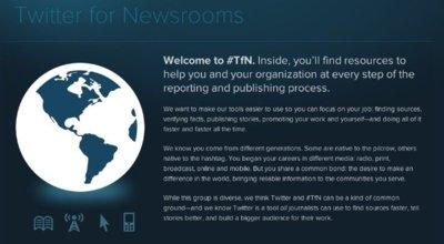 Twitter for Newsrooms, ayudando a los medios a publicar sus noticias usando Twitter