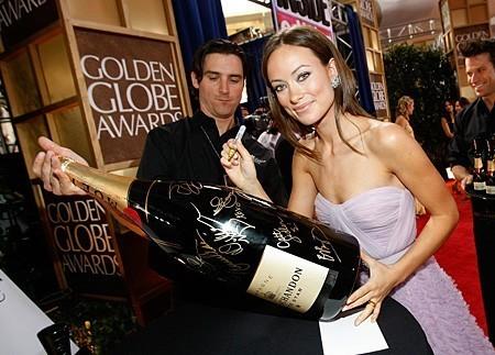 Champagne Moët & Chandon en los Globos de Oro 2009