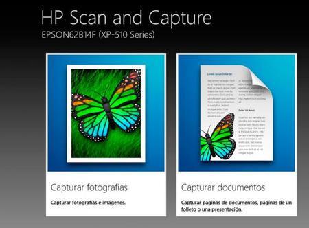 Capturar fotografía hp scan