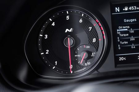 Hyundai i30 Fastback N cuentarevoluciones