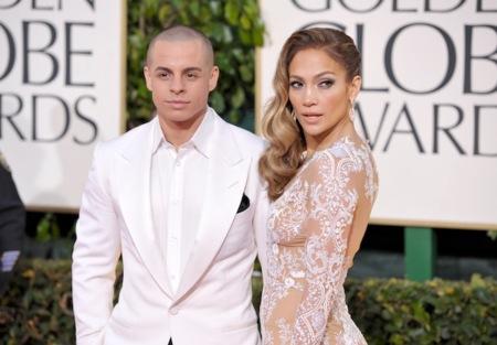 Jennifer López y su novio Casper Smart