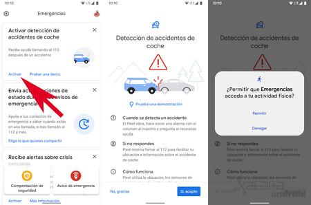 Detección accidentes de coche
