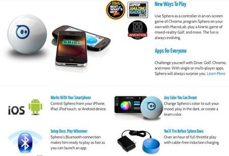 Principales funciones de Sphero