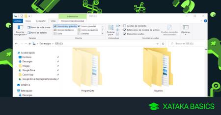 Cómo ver carpetas y archivos ocultos en Windows 10