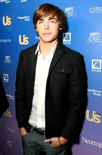 zac efron us weekly party