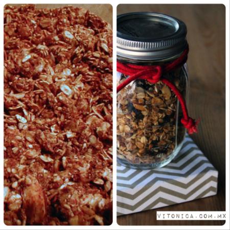 Snack saludable navideño: granola hecha en casa