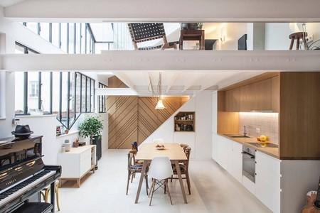 ¡Súper luminoso! Un ecléctico y precioso loft en París
