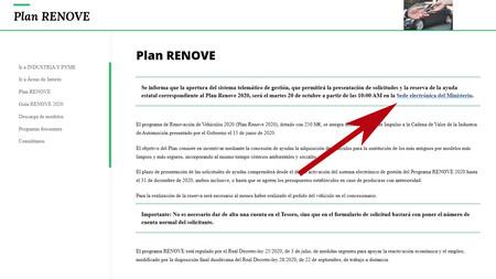 Plan Renove 2020 2