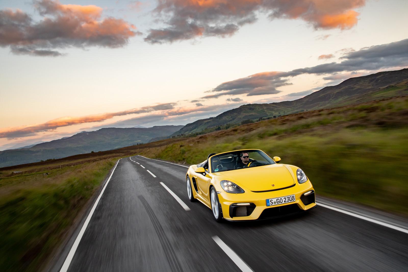 Foto de Porsche 718 Spyder (prueba contacto) (235/296)