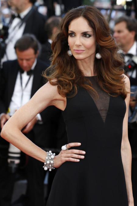 Eugenia Silva sabe cómo vestir de largo en el negro más elegante de Dior para Cannes