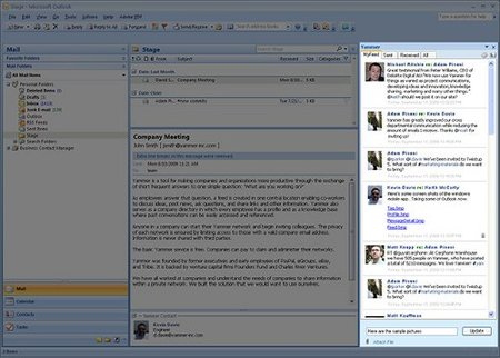 Yammer se integra con Outlook