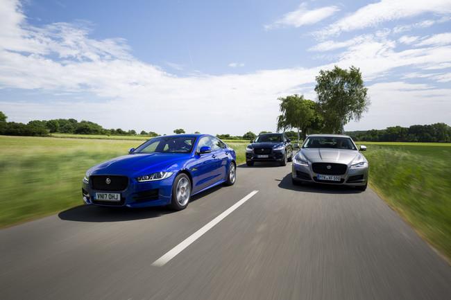 Probamos los nuevos y eficientes motores Ingenium de cuatro cilindros que animan a los Jaguar XE, XF y F-Pace