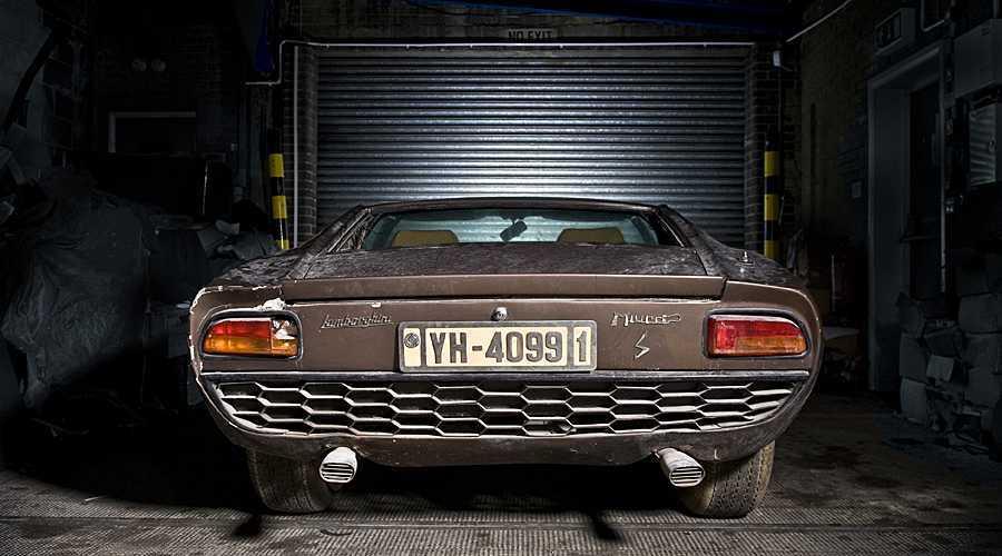 Lamborghini Miura adquirido en 1969 por Aristóteles Onassis