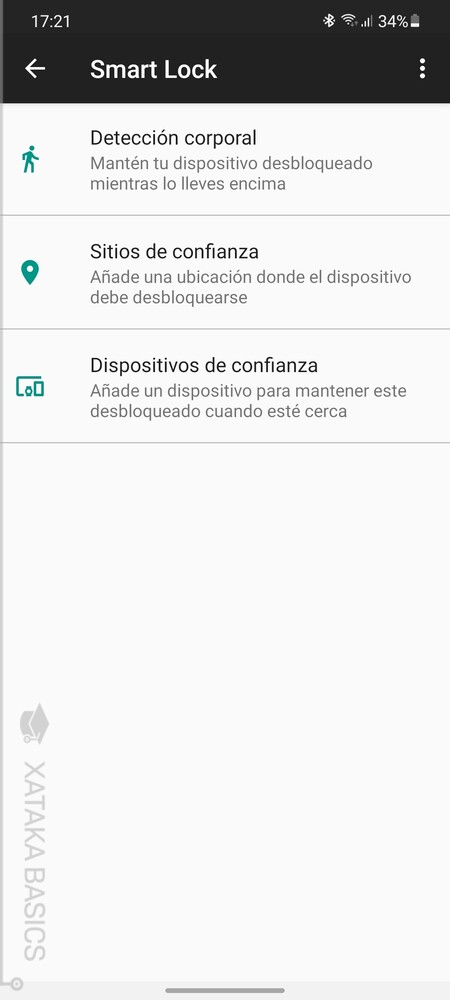 Movil Desbloqueado En Sitios O Con Dispositivos De Confianza