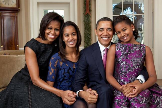 Obama Family Portrait By Pete Souza The White House
