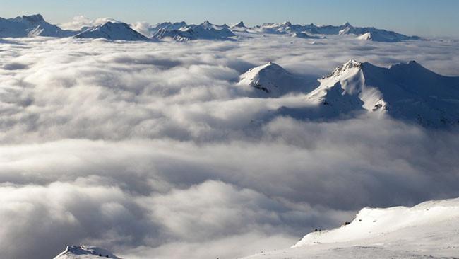 Fluido Atmosférico, un timelapse con sobrecogedoras imágenes de las nubes