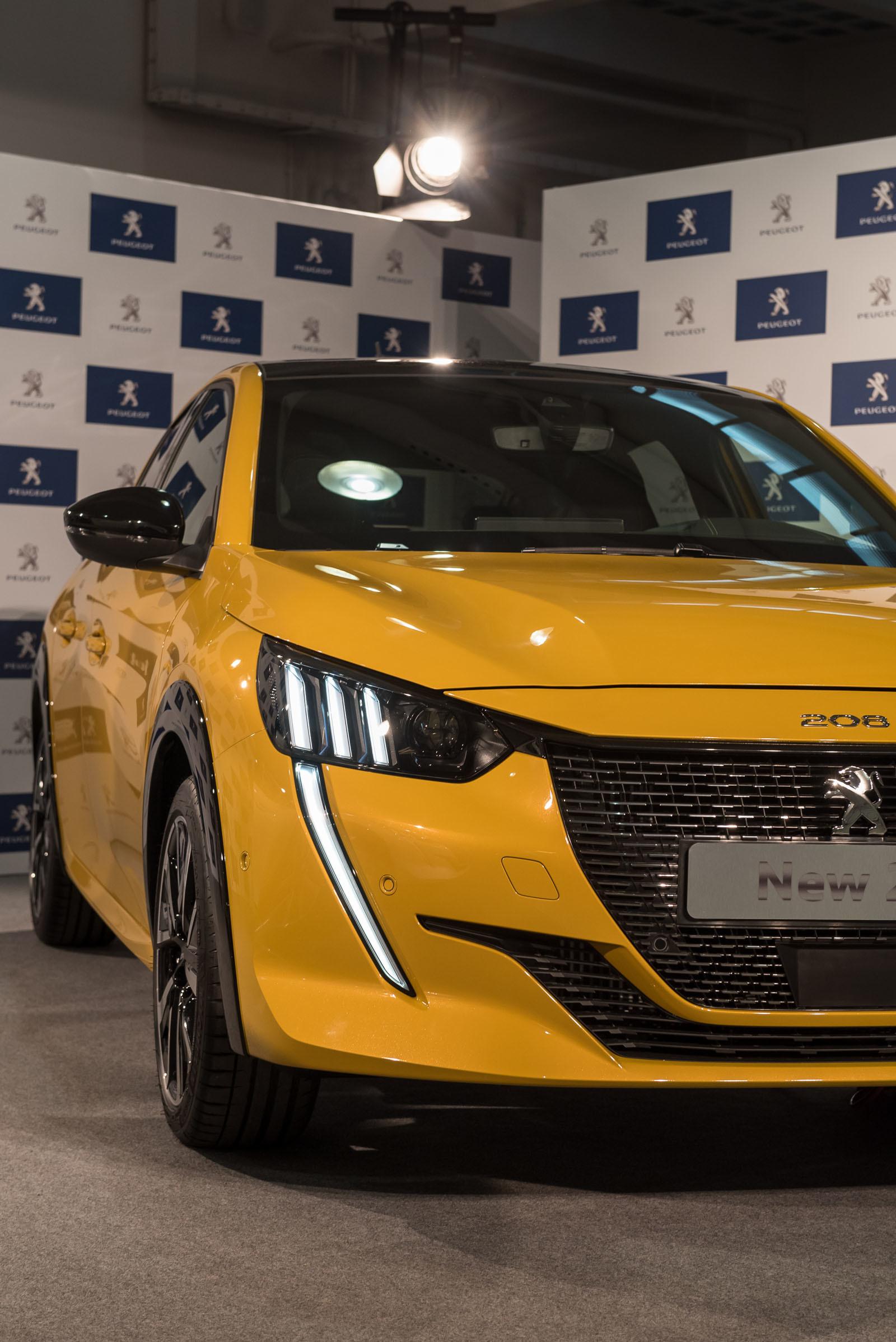 Foto de Peugeot 208 y e-208 2019 (presentación estática) (12/64)