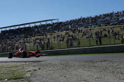 Marc Gené y el Ferrari F2007 hicieron vibrar al circuito del Jarama