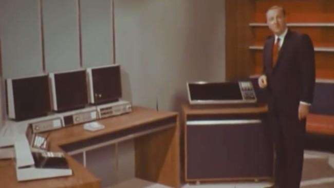 Asi De Bien Se Imaginaron La Oficina Del Siglo Xxi En 1967