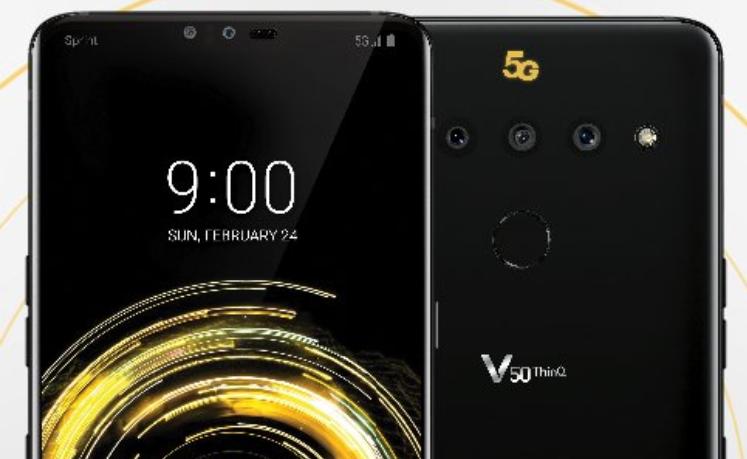 Así será el LG® V50, su representación de prensa se filtra a días de su presentación