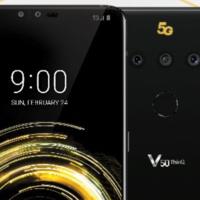 Así será el LG V50, su imagen de prensa se filtra a días de su presentación